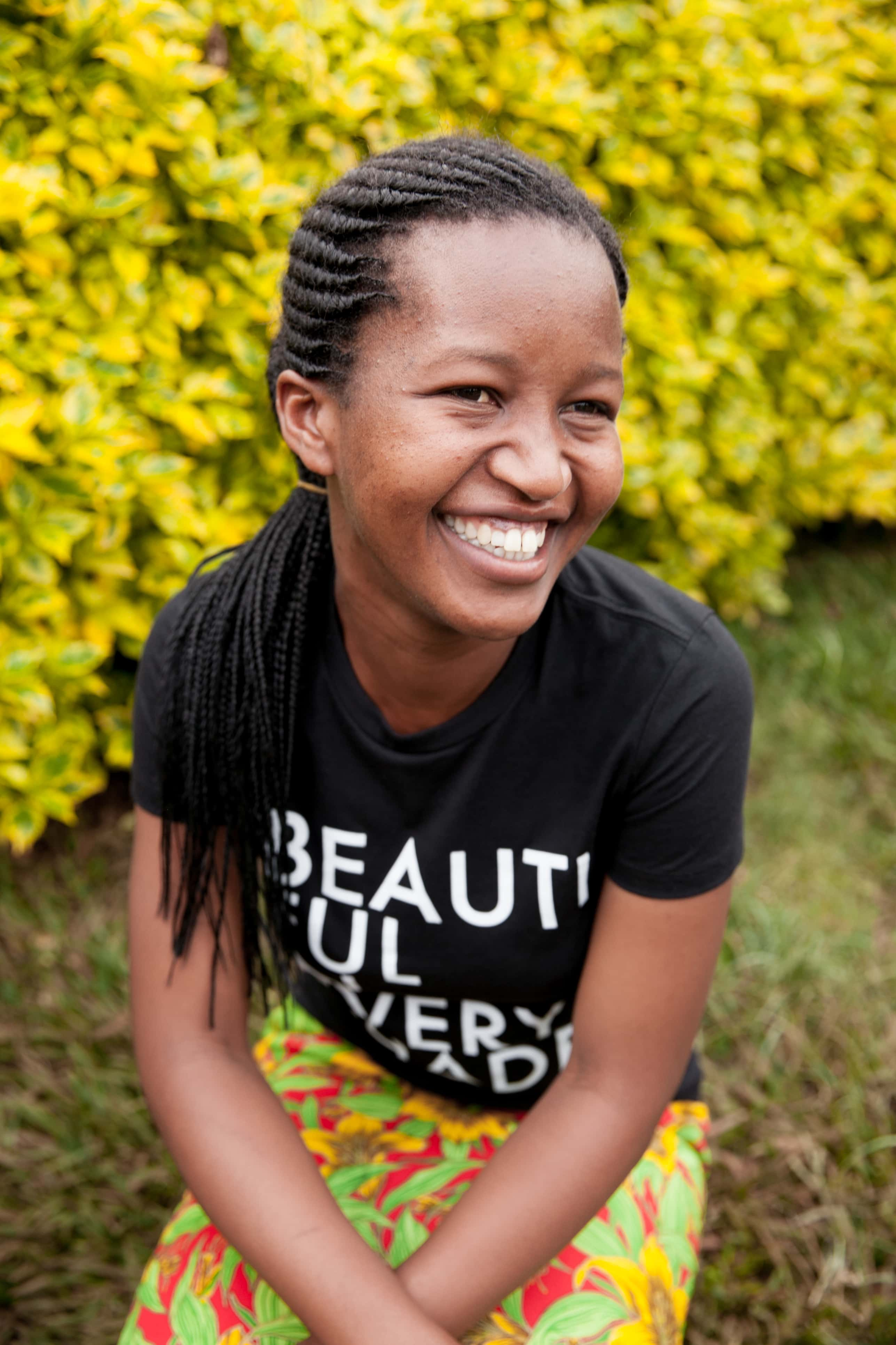 Marie Aimee vodi ženski center Nyamirambo v Ruandi