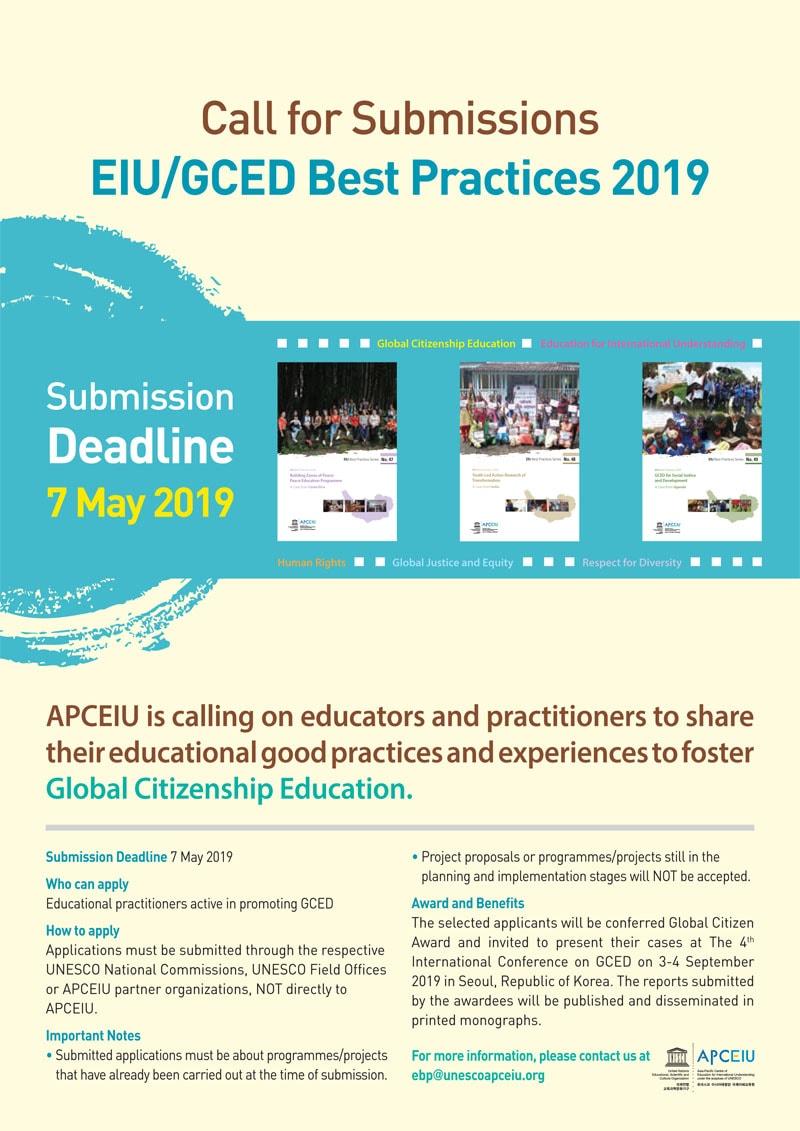 APCEIU: razpis za najboljše prakse s področja globalnega učenja