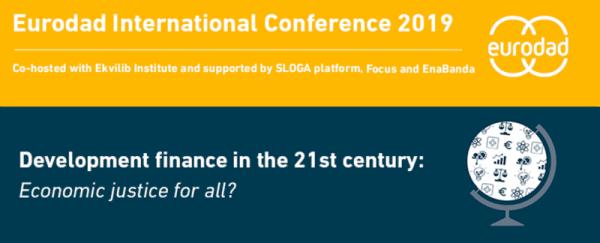 Odprte prijave na konferenco Eurodad!
