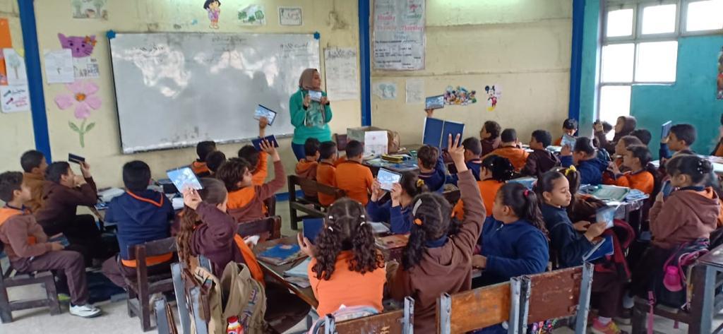 Zavod KROG izobražuje in ozavešča o otrokovih pravicah v Egiptu