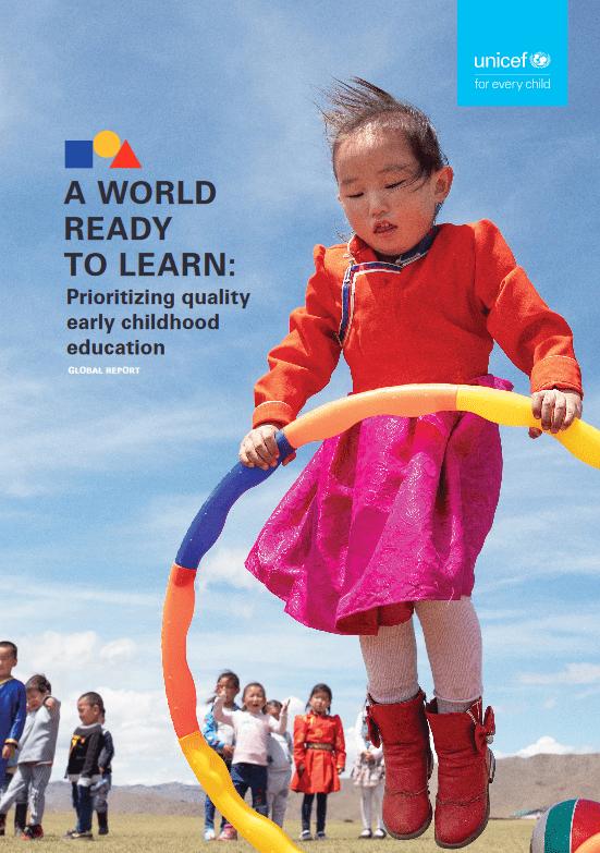 Prvo globalno poročilo UNICEF-a o izobraževanju v zgodnjem otroštvu: 175 milijonov otrok ni vključenih v predšolsko vzgojo