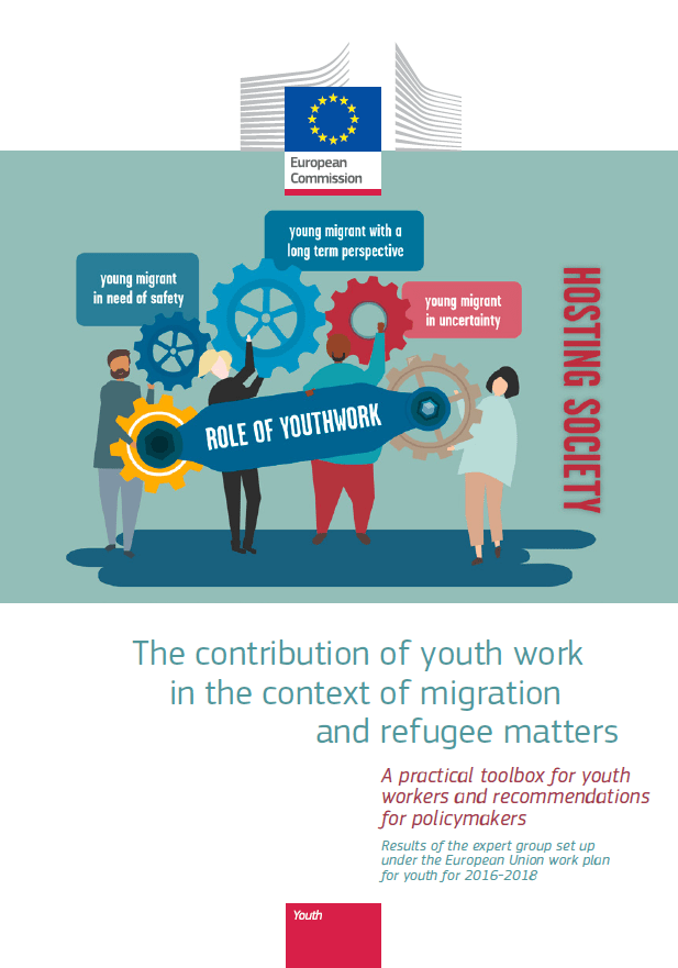 Priročnik: The contribution of youth work in the context of migration and refugee matters
