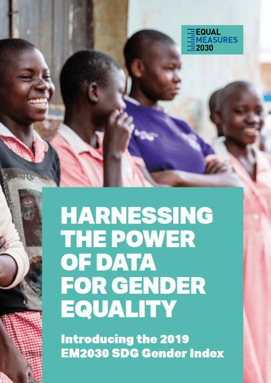 Globalno poročilo 2019 o enakosti spolov Equal Measures 2030