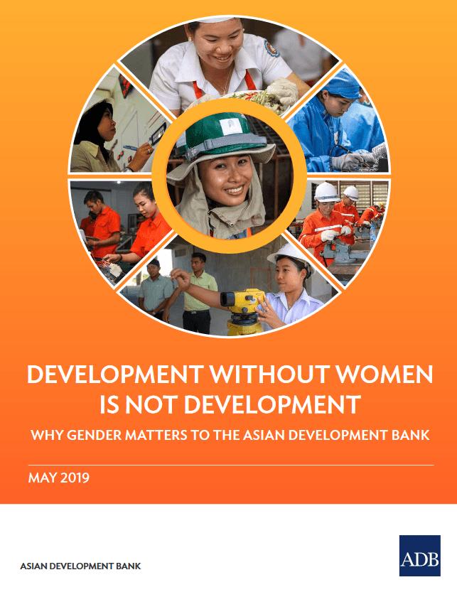 Razvoj brez žensk ni razvoj – publikacija Azijske razvojne banke