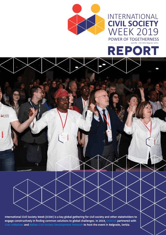 Poročilo z mednarodnega tedna civilne družbe ICSW 2019