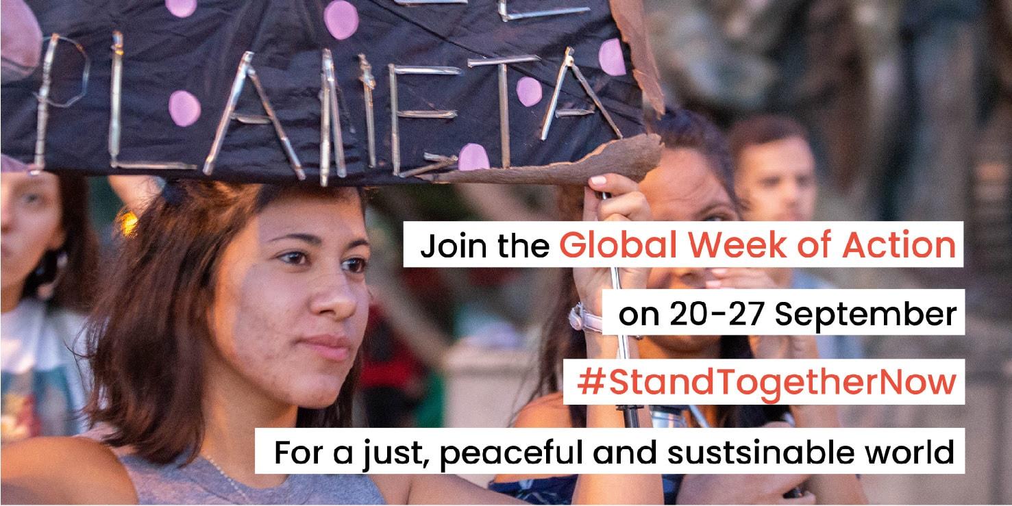 Globalni teden akcije – ideje za organizacijo akcij