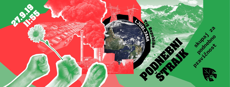 Podnebni štrajk 27. septembra: Tokrat gremo na ulice skupaj!
