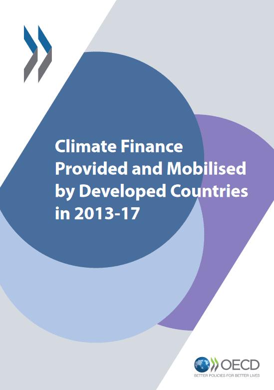 Poročilo OECD o podnebnem financiranju v razvitih državah v obdobju 2013-2017