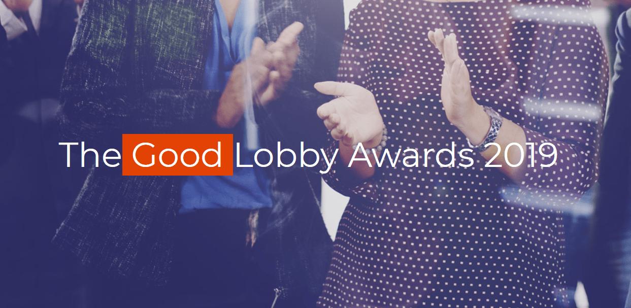Nagrade The Good Lobby Awards 2019