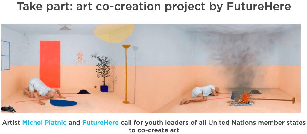 Sodelujte pri ustvarjanju umetnosti za trajnostni razvoj!