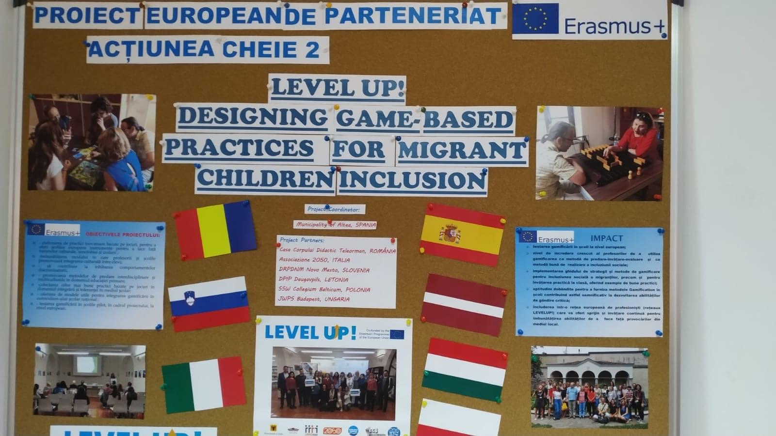 LEVEL UP – projekt za socialno vključenost otrok migrantov v šolah