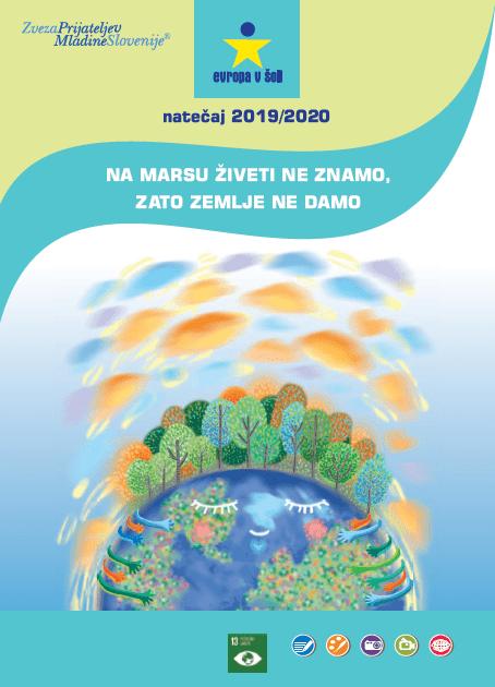 Publikacija Evropa v šoli 2019/2020 na temo podnebnih sprememb