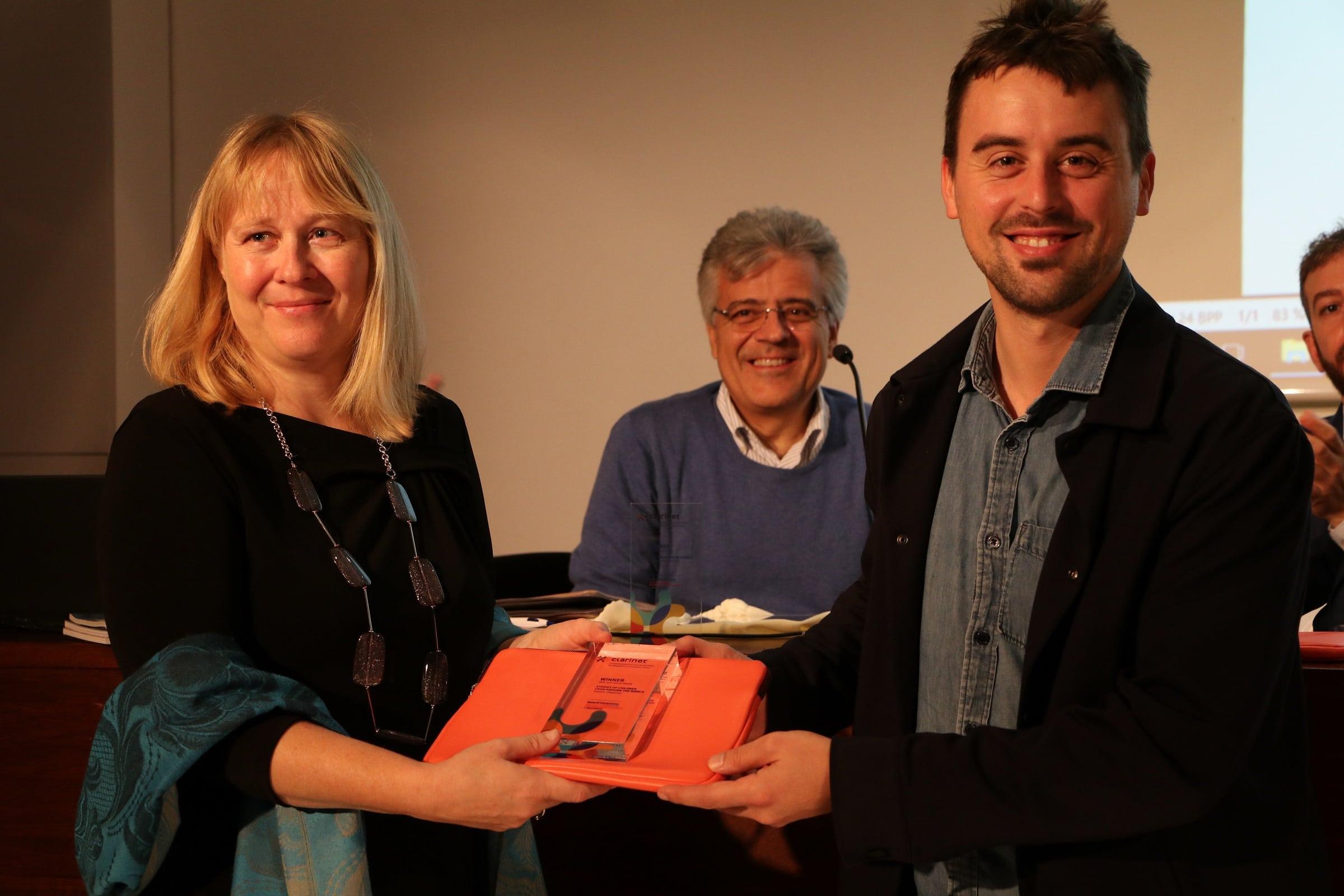 Mednarodna nagrada projekta Clarinet za Zgodbe otrok sveta