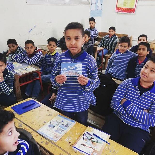 Zavod Krog ozavešča več kot 900 otrok v Egiptu o njihovih pravicah