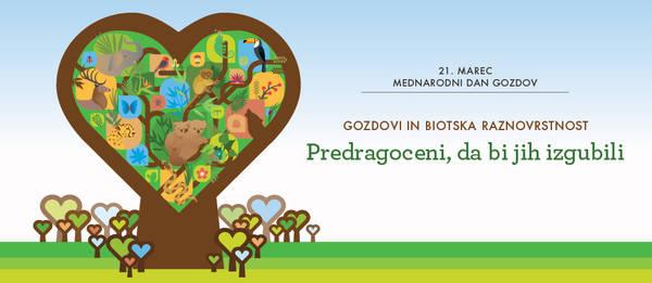 21. marec je posvečen gozdovom