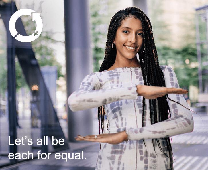 Vsakdo za enakopravnost – pridružite se letošnji kampanji ob dnevu žena