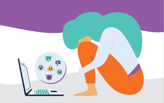 Priročnik in učna ura o spletnem nasilju nad ženskami in dekleti