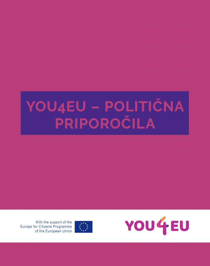 PINA izdala publikacijo YOU4EU – politična priporočila
