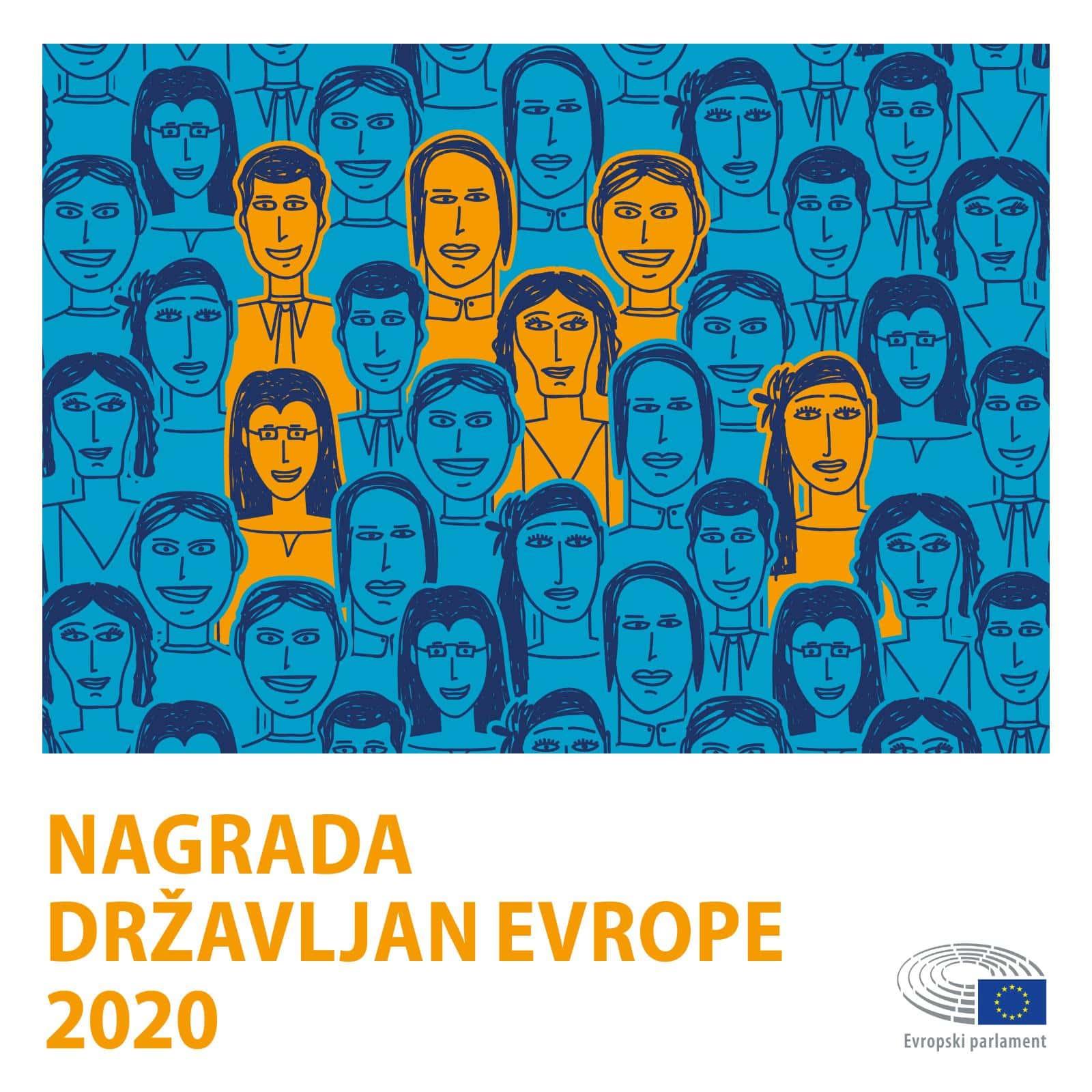 Evropski parlament podaljšal natečaj za nagrado Državljan Evrope 2020