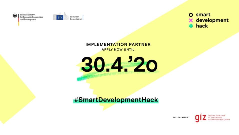 """Online hackathon"""" – #SmartDevelopmentHack"""