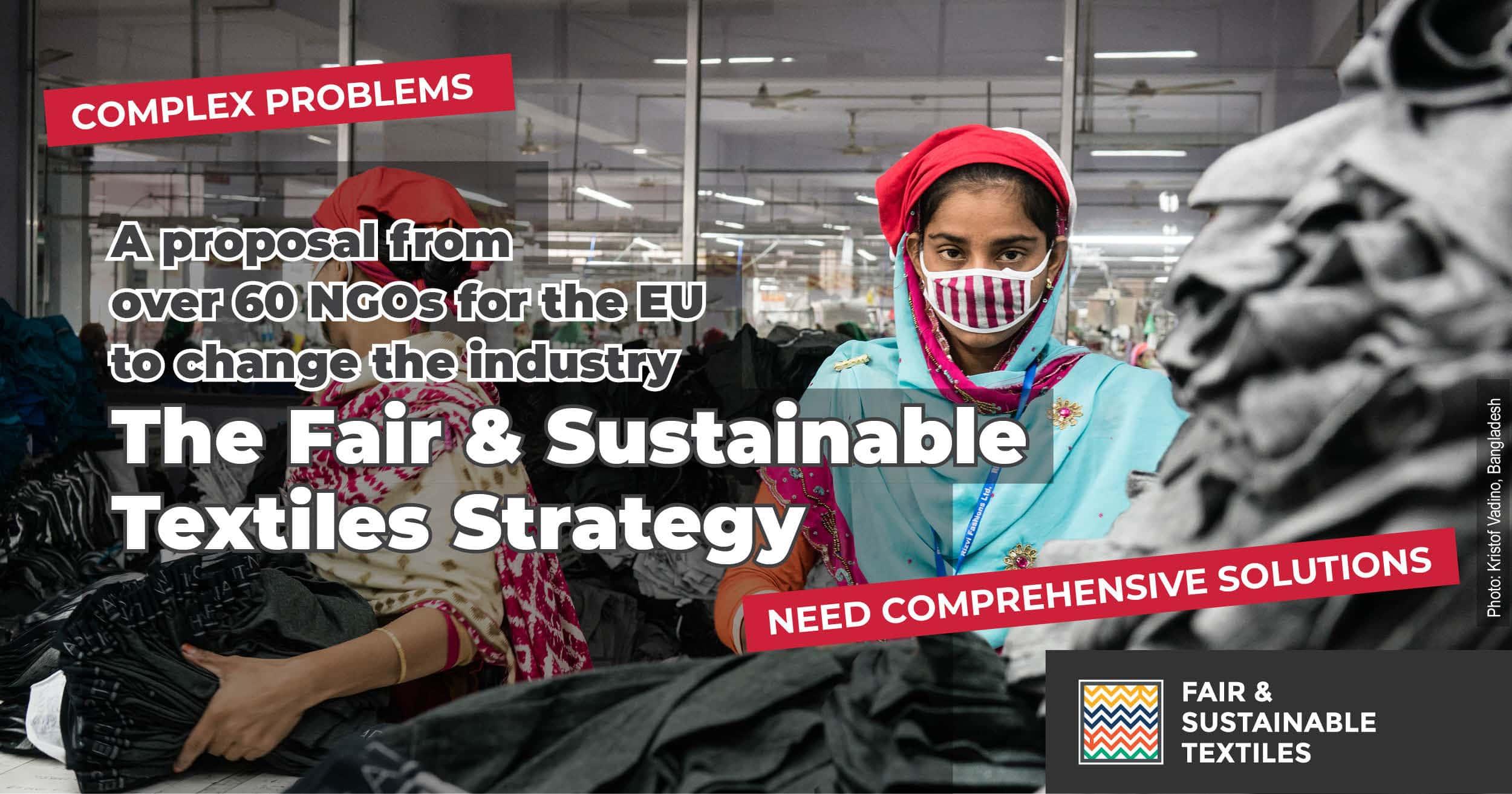 Koronavirus je pokazal, da mora EU ukiniti toksično tekstilno industrijo