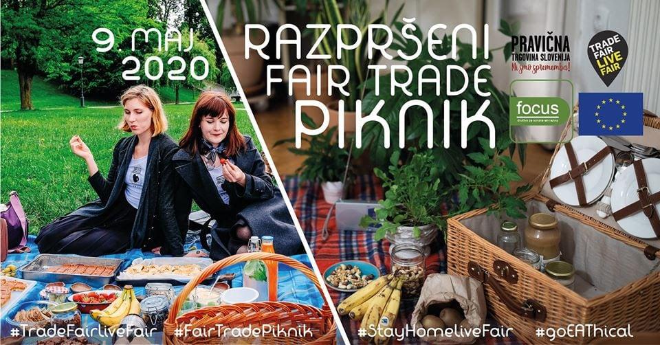 Pridružite se razpršenemu Fair Trade pikniku