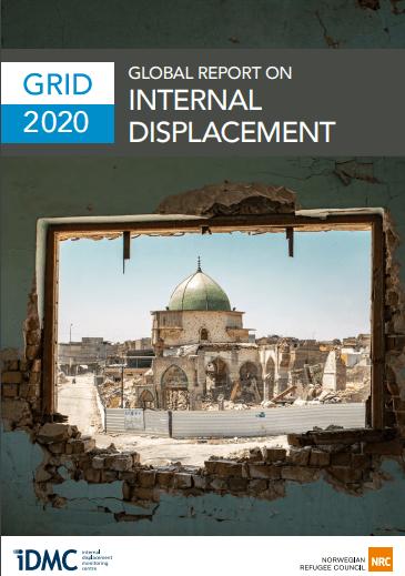 Globalno poročilo o notranje razseljenih osebah v letu 2019