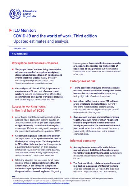 Stanje dela in delavcev v času Covida-19