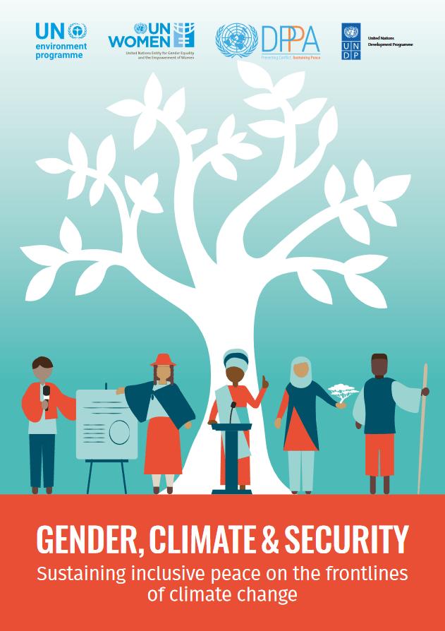 Naslavljanje podnebnih sprememb in varnostnih vprašanj skozi spol