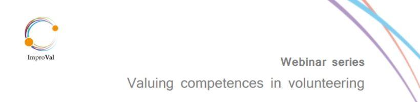 Serija spletnih seminarjev o vrednotenju kompetenc v prostovoljstvu