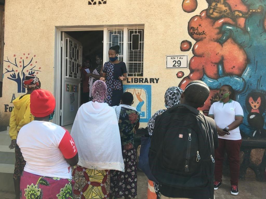 Ženski center Nyamirambo v Ruandi 28 družinam pomagal blažiti posledice pandemije