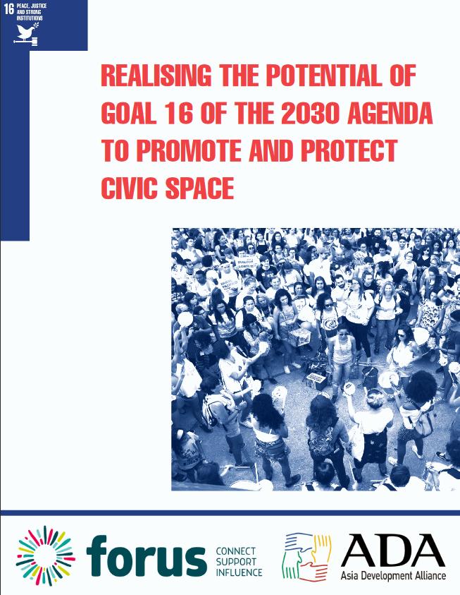 Fokus novega poročila o 16. cilju trajnostnega razvoja na prostoru civilne družbe
