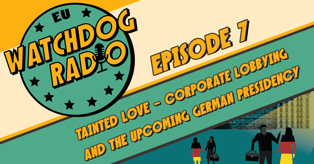 Podcast o lobiranju in prihajajočem nemškem predsedovanju Svetu EU