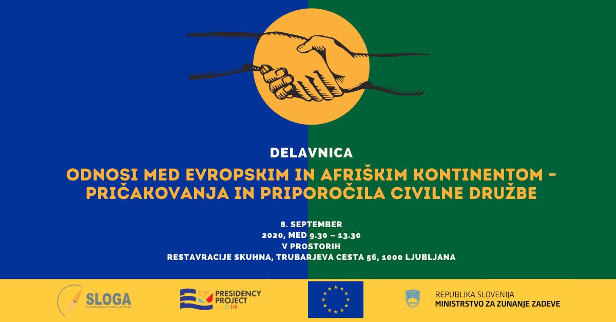 Odnosi med evropskim in afriškim kontinentom – pričakovanja in priporočila civilne družbe