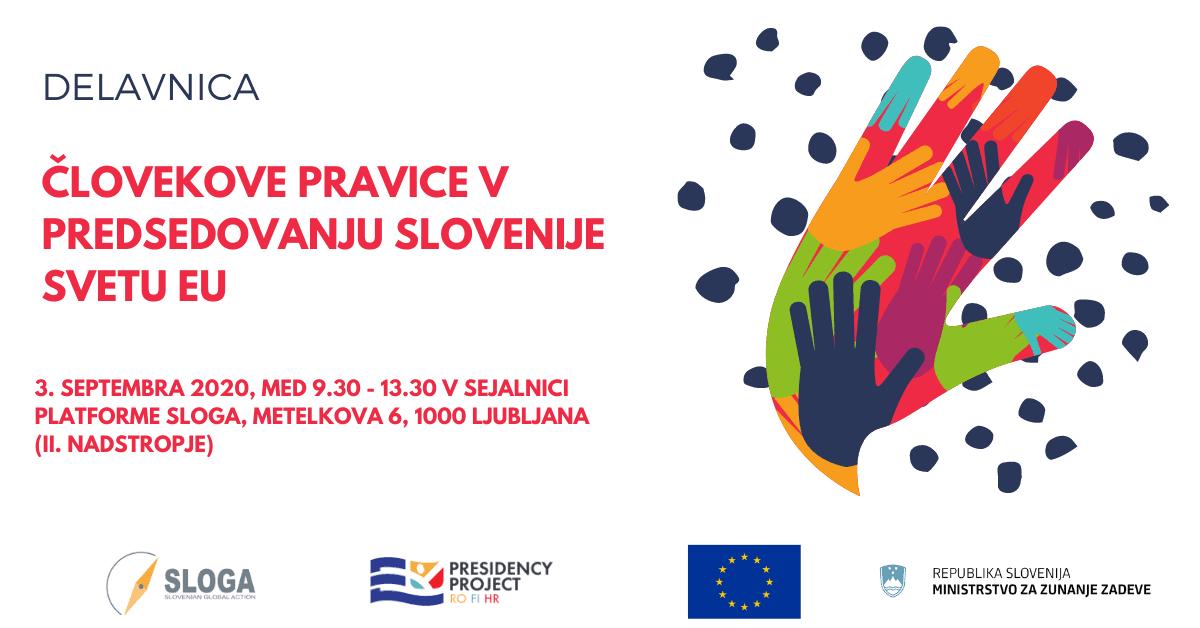 Človekove pravice v predsedovanju Slovenije svetu EU
