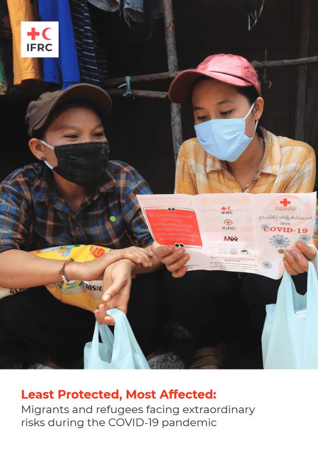 Poročilo Mednarodne federacije društev Rdečega križa in Rdečega polmeseca opozarja, da so migranti in begunci najbolj prizadete osebe med krizo Covida-19