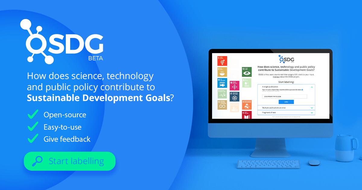 Kako znanost, tehnologija in javna politika prispevajo k uresničevanju ciljev trajnostnega razvoja?