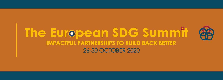 Ne zamudite: Evropski SDG Summit 2020!