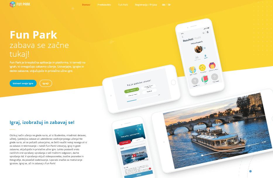 FunPark aplikacija
