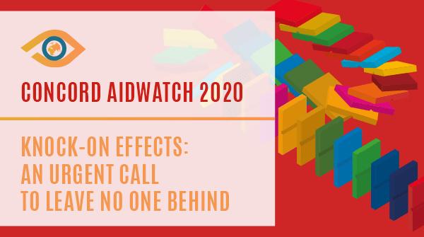 Glas vpijočega v stiski: poziv, da nikogar ne pustimo ob strani. Objava AidWatch poročila civilne družbe o evropski uradni razvojni pomoči 2020