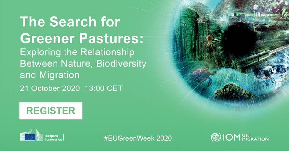 """""""Iskanje bolj zelenih pašnikov: razmerje med naravo, biotsko raznovrstnostjo in migracijami"""""""