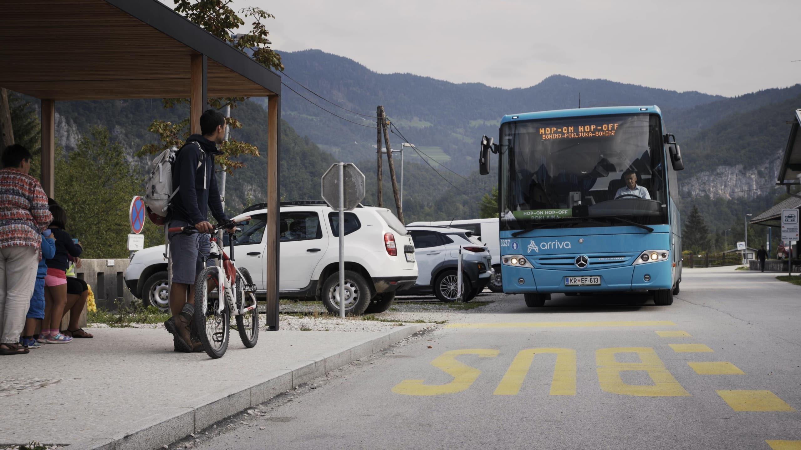 Trajnostna mobilnost v Bohinju v videu