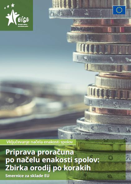 Priprava proračuna po načelu enakosti spolov: Zbirka orodij po korakih