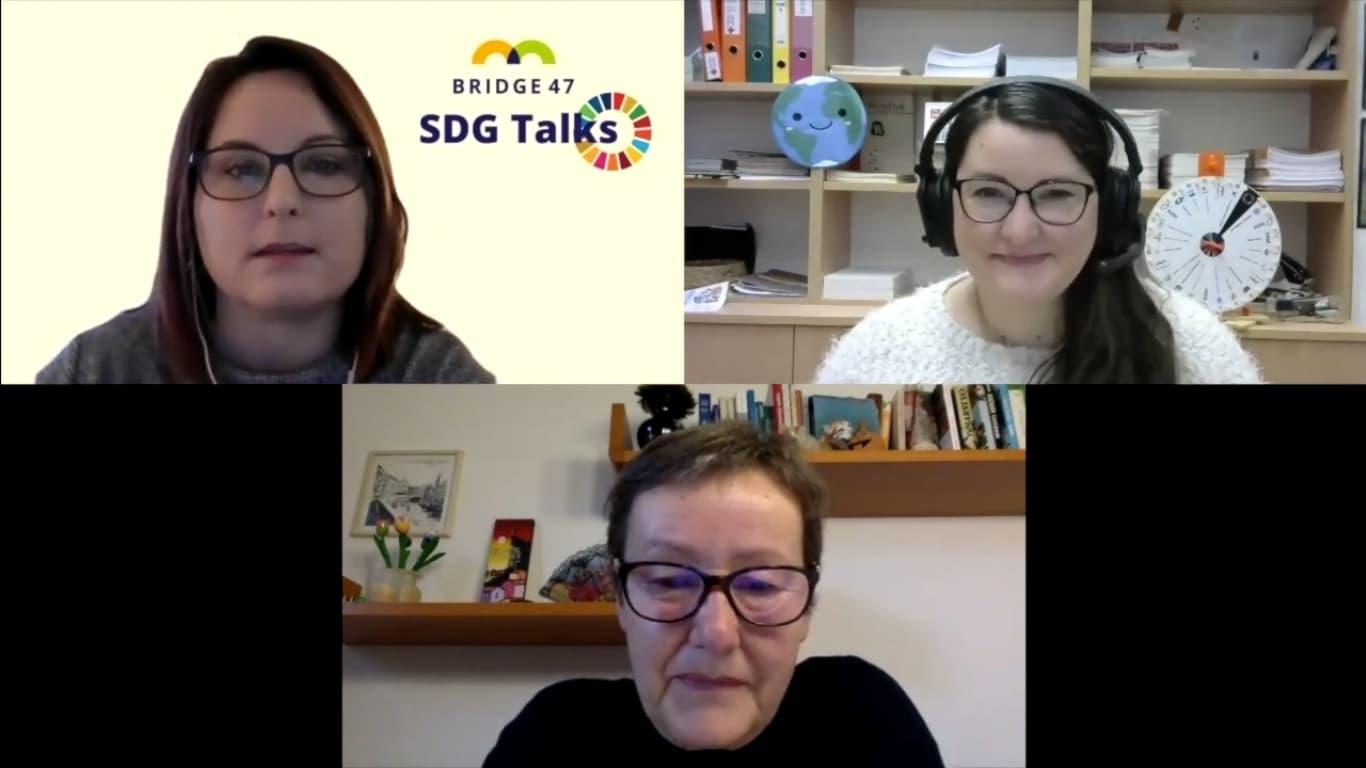 SDG Talks s prof. dr. Majo Bučar iz Fakultete za družbene vede