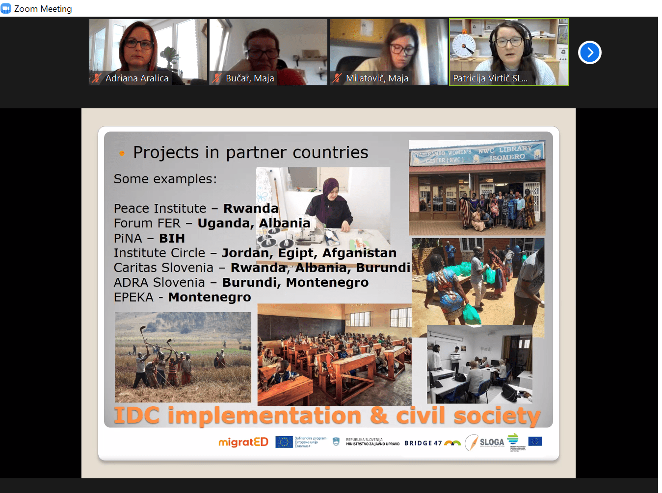 S študentkami in študenti Mednarodnih odnosov o vlogi civilne družbe v razvojnem sodelovanju