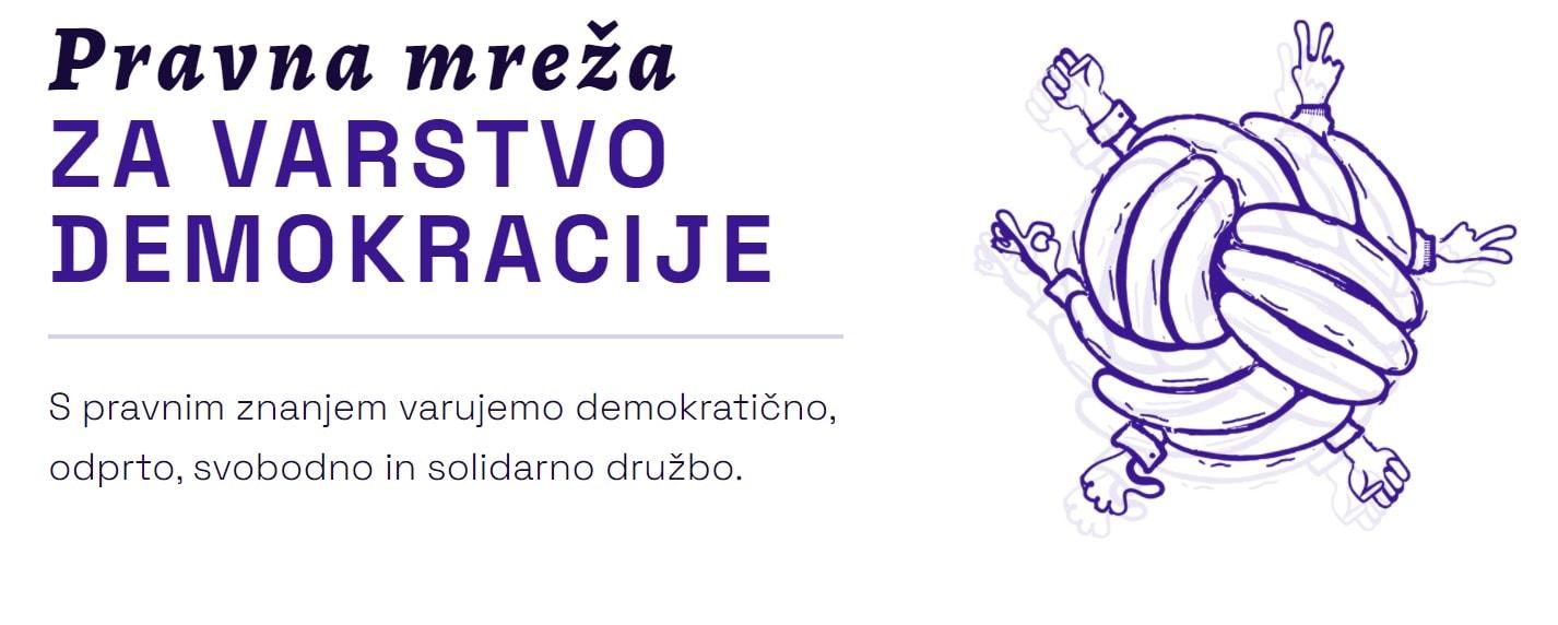 Ustanovitev Pravne mreže za varstvo demokracije