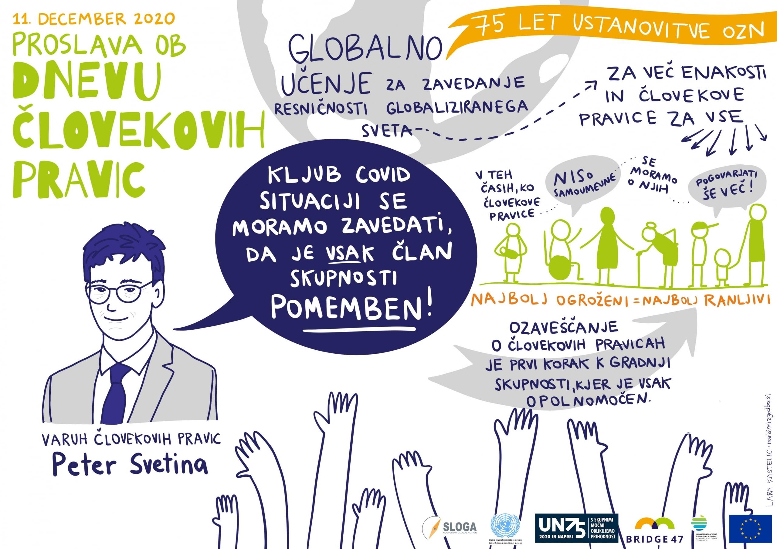 """Varuh človekovih pravic: """"Globalno učenje je pomembno za zavedanje resničnosti globaliziranega sveta"""""""
