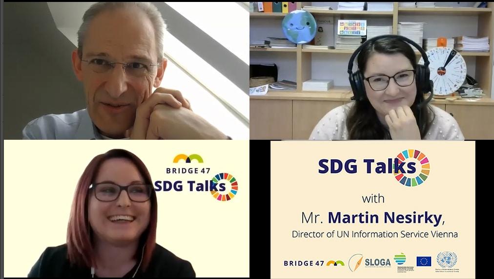 SDG Talks: Martin Nesirky, UNIS Vienna