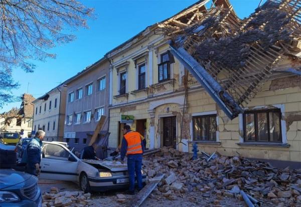 Apel hrvaške Solidarne za pomoč žrtvam potresa