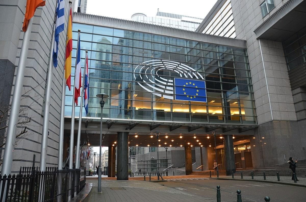 Evropski parlament. Vir: Wikimedia Commons